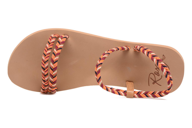 Sandales et nu-pieds Roxy Luana Multicolore vue gauche