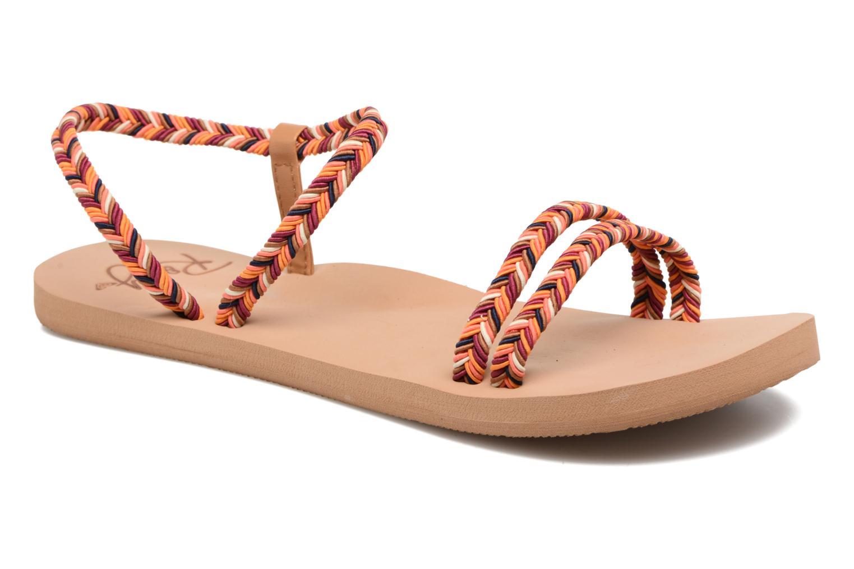Sandales et nu-pieds Roxy Luana Multicolore vue détail/paire