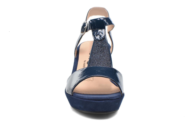 Sandales et nu-pieds Madison Esolo Bleu vue portées chaussures