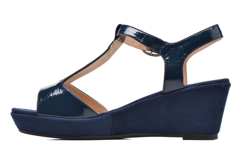 Sandales et nu-pieds Madison Esolo Bleu vue face