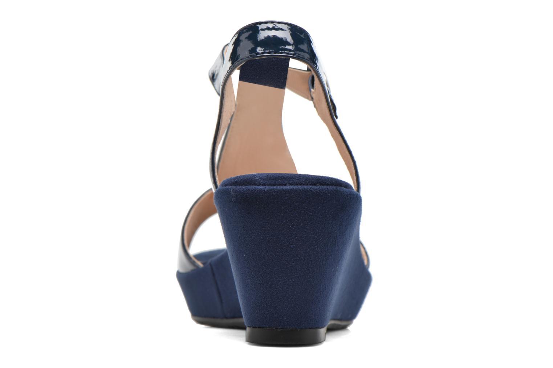 Sandales et nu-pieds Madison Esolo Bleu vue droite