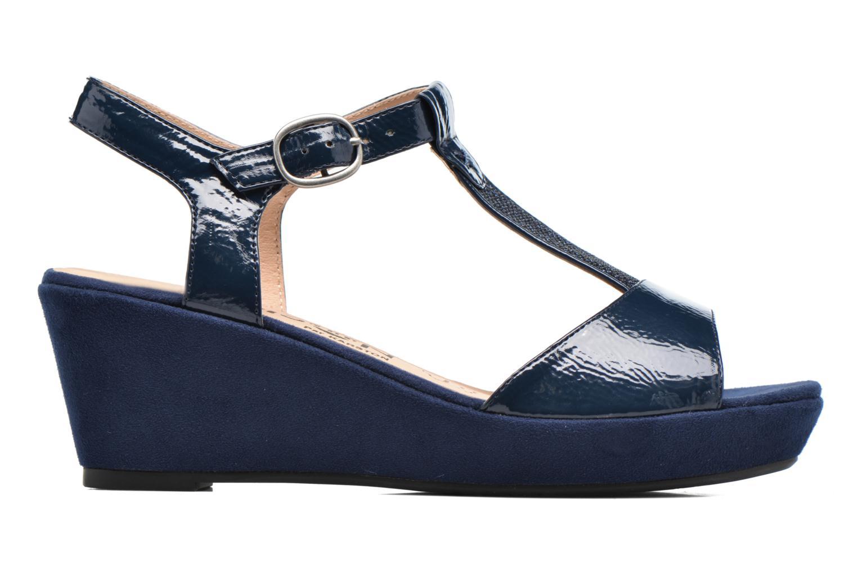 Sandales et nu-pieds Madison Esolo Bleu vue derrière