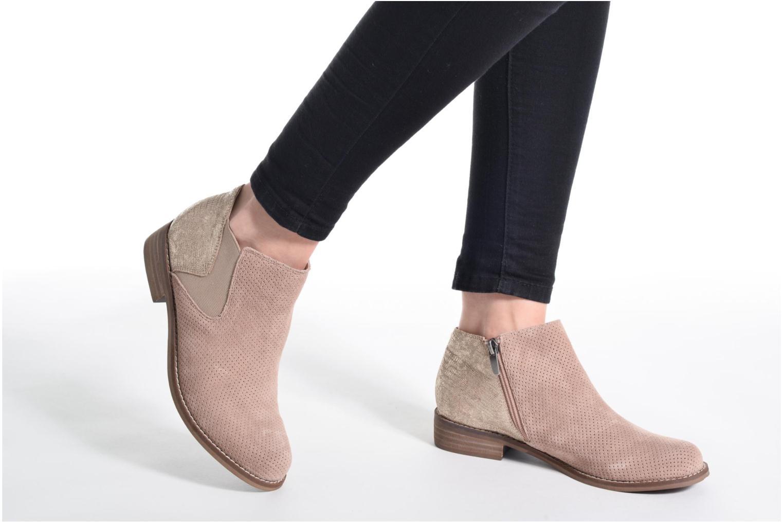 Bottines et boots Madison Acome Bleu vue bas / vue portée sac