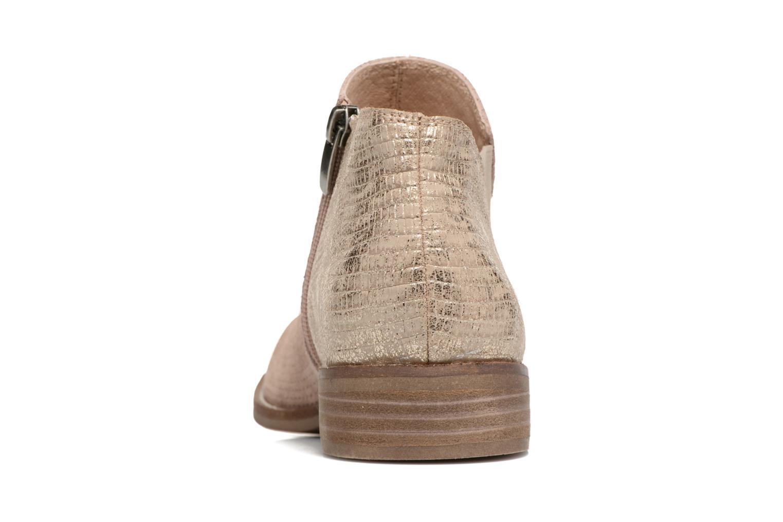 Bottines et boots Madison Acome Bleu vue droite