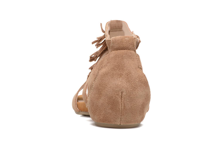 Sandales et nu-pieds Madison Emotion Marron vue droite