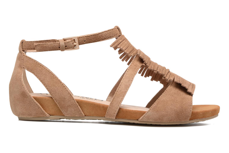 Sandales et nu-pieds Madison Emotion Marron vue derrière