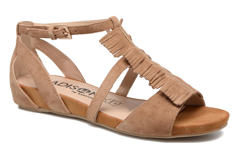 Sandales et nu-pieds Madison Emotion Marron vue détail/paire