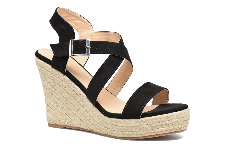 Sandales et nu-pieds I Love Shoes MCJASON Noir vue détail/paire
