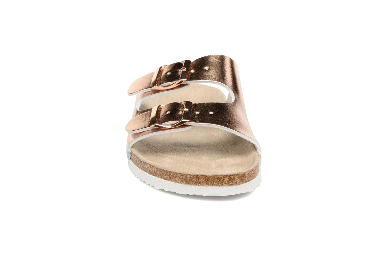 Sandalen I Love Shoes Mcbee gold/bronze schuhe getragen