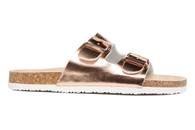 Sandales et nu-pieds I Love Shoes Mcbee Or et bronze vue derrière