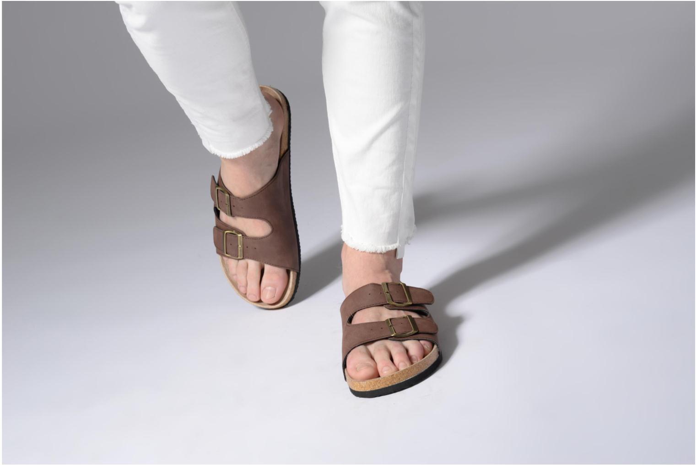 Sandali e scarpe aperte I Love Shoes MCerdu Marrone immagine dal basso