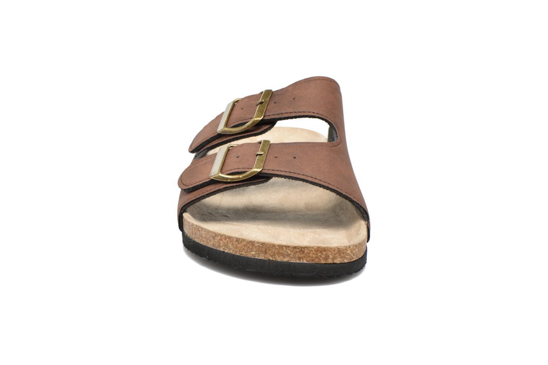 Sandales et nu-pieds I Love Shoes MCerdu Marron vue portées chaussures