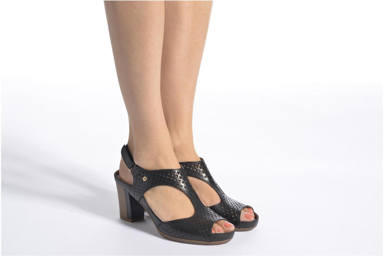 Sandales et nu-pieds Pikolinos Java W0K-0919 Noir vue bas / vue portée sac