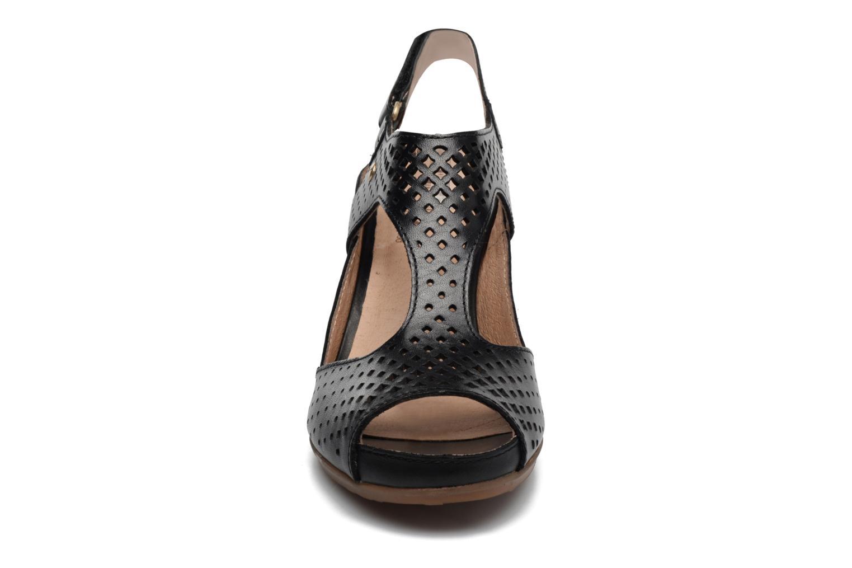 Sandales et nu-pieds Pikolinos Java W0K-0919 Noir vue portées chaussures