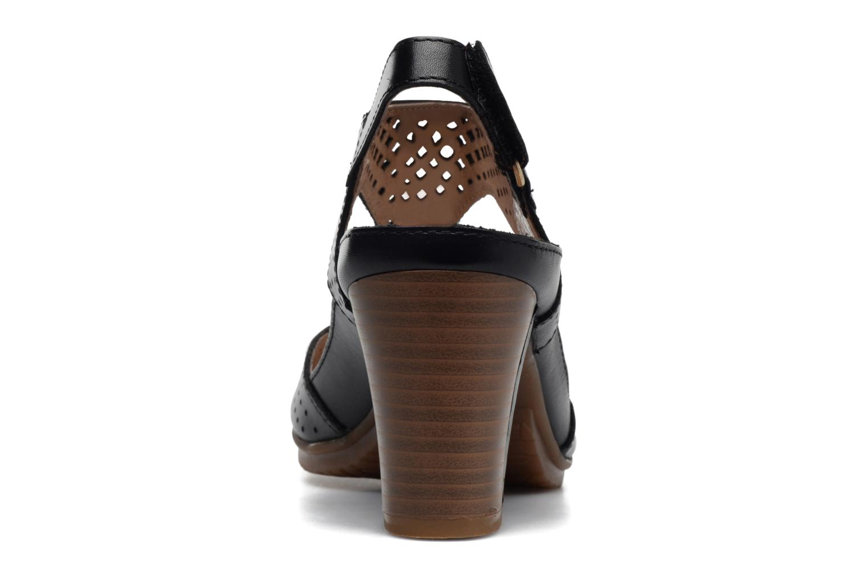 Sandales et nu-pieds Pikolinos Java W0K-0919 Noir vue droite