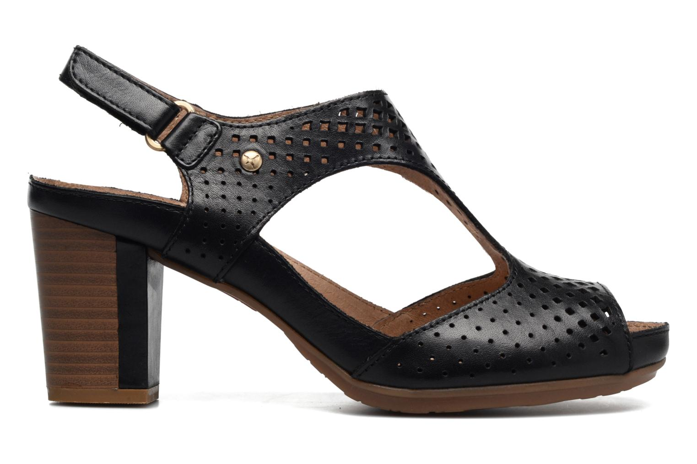 Sandales et nu-pieds Pikolinos Java W0K-0919 Noir vue derrière
