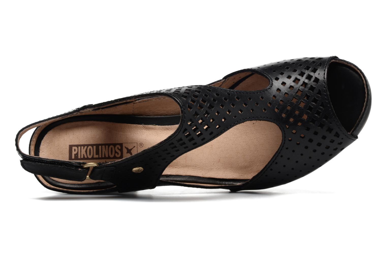 Sandales et nu-pieds Pikolinos Java W0K-0919 Noir vue gauche