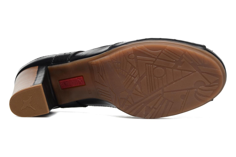 Sandales et nu-pieds Pikolinos Java W0K-0919 Noir vue haut
