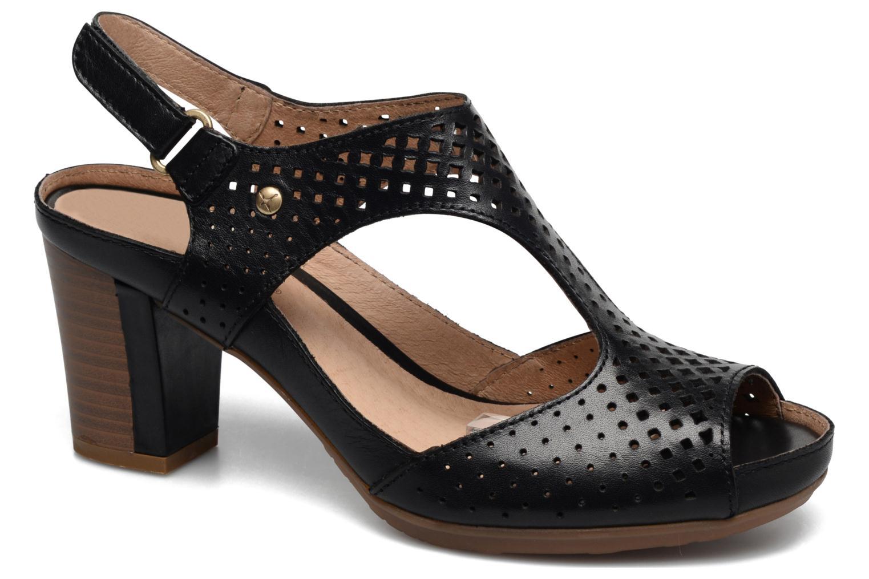 Sandales et nu-pieds Pikolinos Java W0K-0919 Noir vue détail/paire