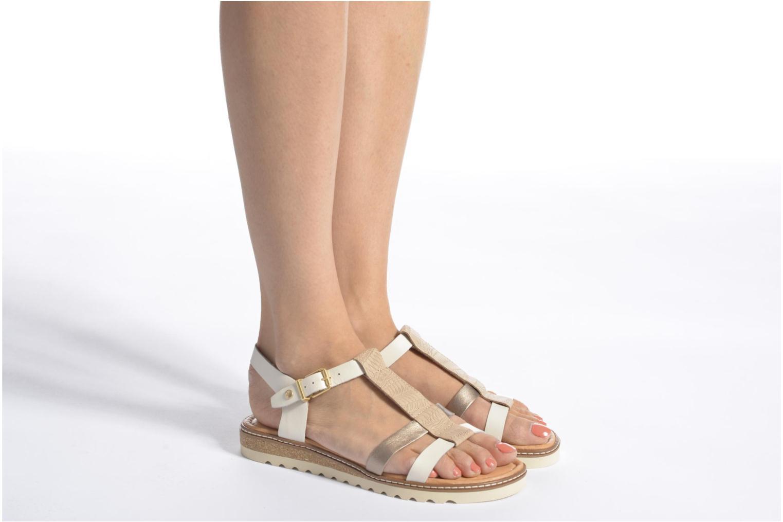 Sandales et nu-pieds Pikolinos Alcudia W1L-0956 Blanc vue bas / vue portée sac