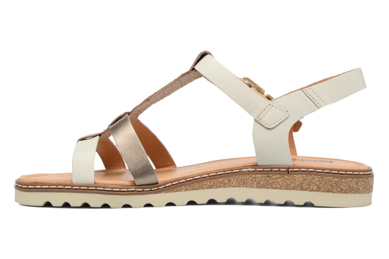 Sandales et nu-pieds Pikolinos Alcudia W1L-0956 Blanc vue face