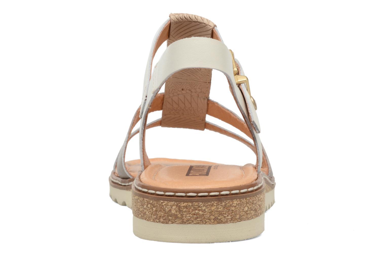 Sandales et nu-pieds Pikolinos Alcudia W1L-0956 Blanc vue droite