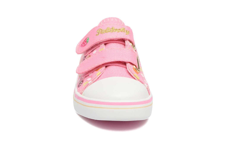 Baskets Pablosky Gina Rose vue portées chaussures