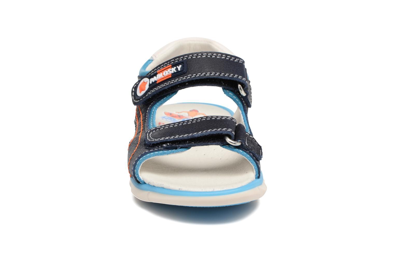 Sandales et nu-pieds Pablosky Arturo Bleu vue portées chaussures
