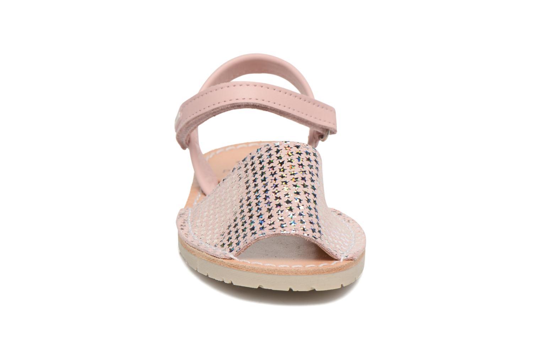 Sandales et nu-pieds Pablosky Clarisa Rose vue portées chaussures