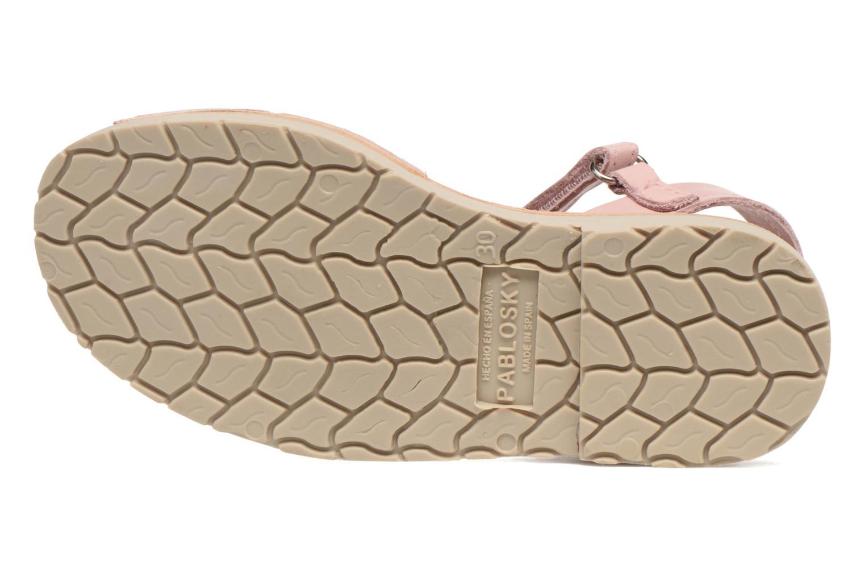 Sandales et nu-pieds Pablosky Clarisa Rose vue haut