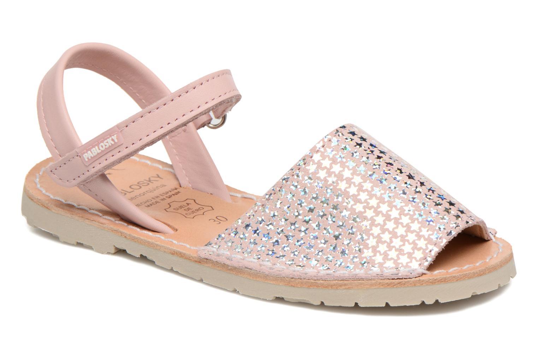 Sandales et nu-pieds Pablosky Clarisa Rose vue détail/paire