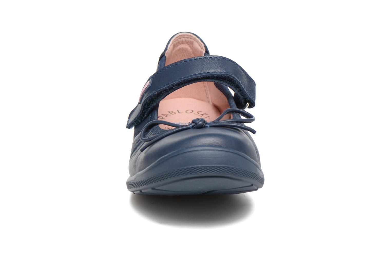 Ballerines Pablosky Dulce Bleu vue portées chaussures