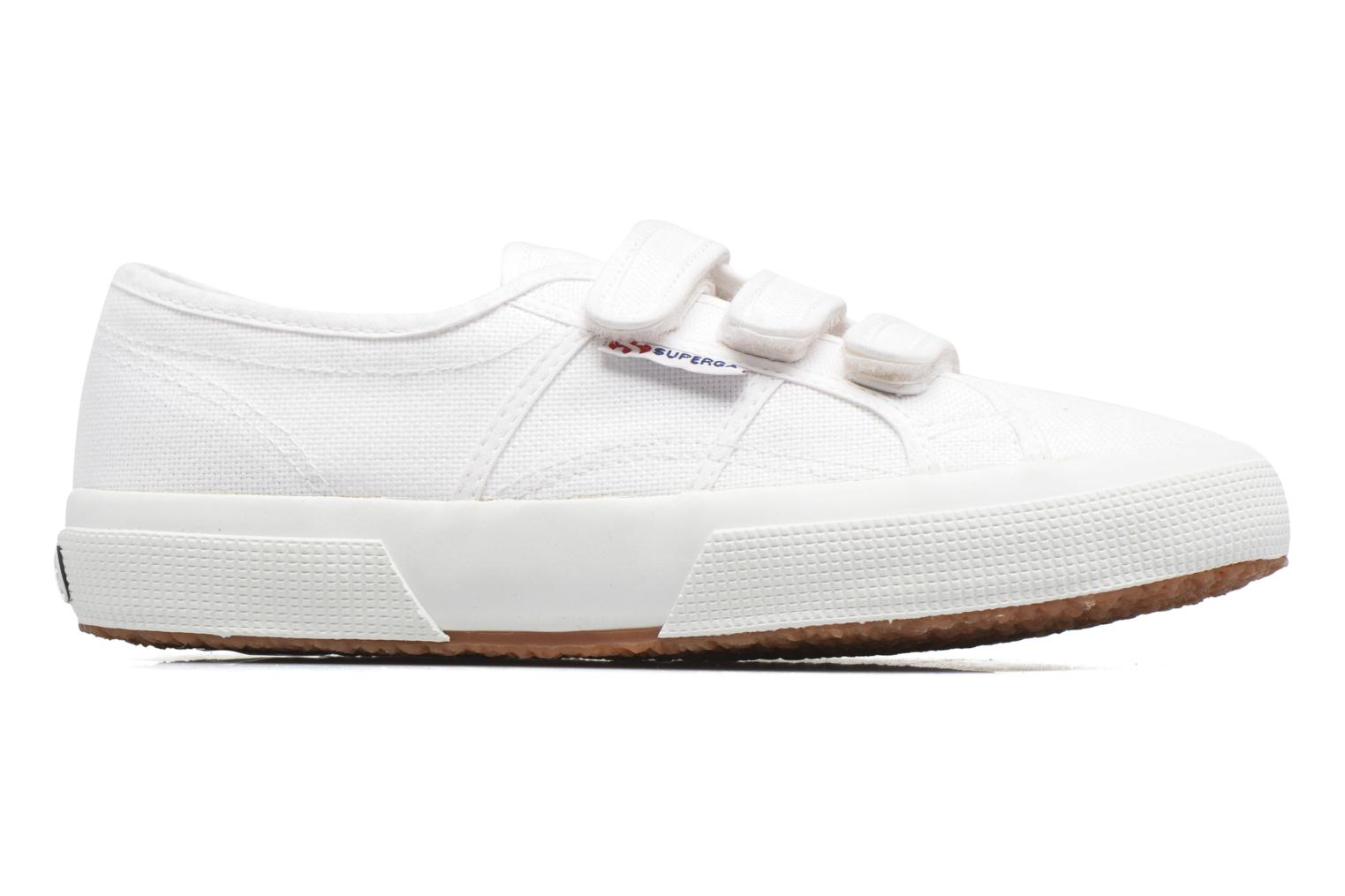 Sneakers Superga 2750 Cot 3 Strapu Wit achterkant