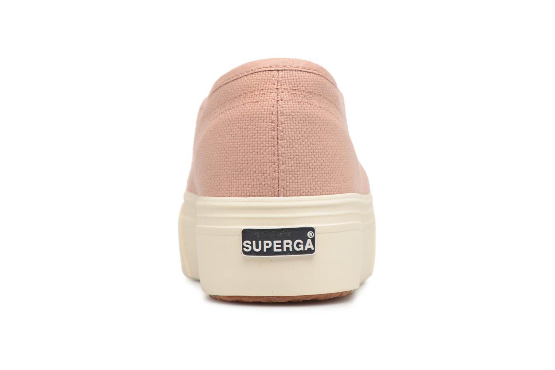Sneakers Superga 2790 Cot W Linea Roze rechts