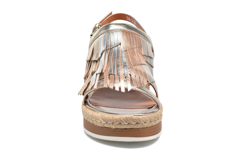 Sandales et nu-pieds Bruno Premi Lia Or et bronze vue portées chaussures