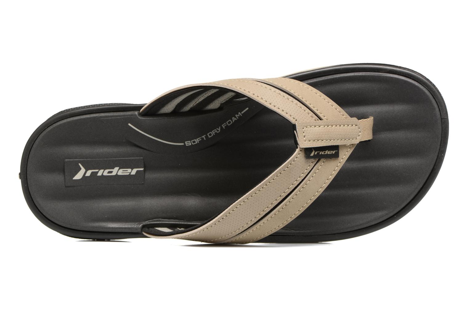Flip flops Rider Ventor II thong AD Beige view from the left