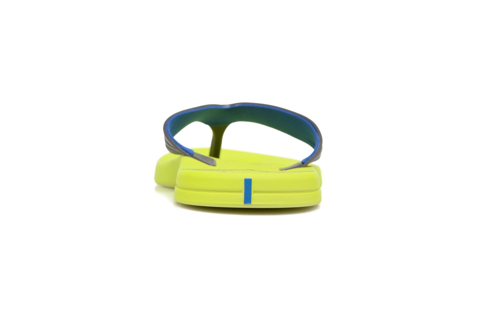 Flip flops Rider Easy thong AD Yellow view from the right