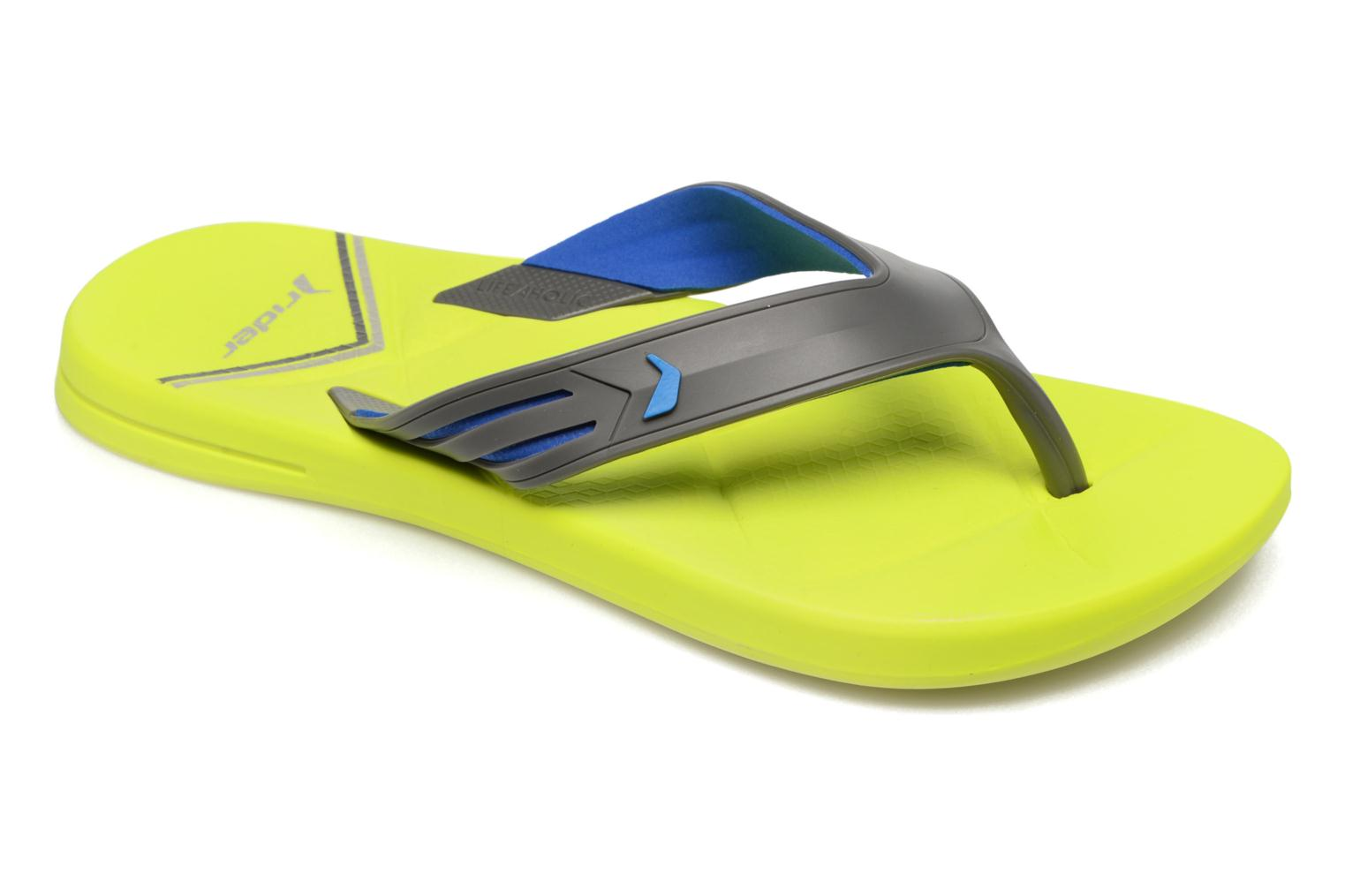Flip flops Rider Easy thong AD Yellow detailed view/ Pair view
