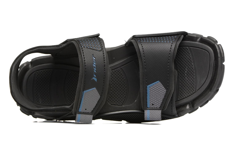 Sandales et nu-pieds Rider Tender IX AD Noir vue gauche