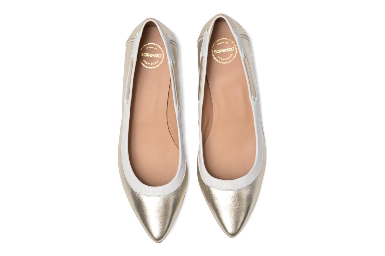Ballet pumps Made by SARENZA Sugar Shoegar #5 Silver model view