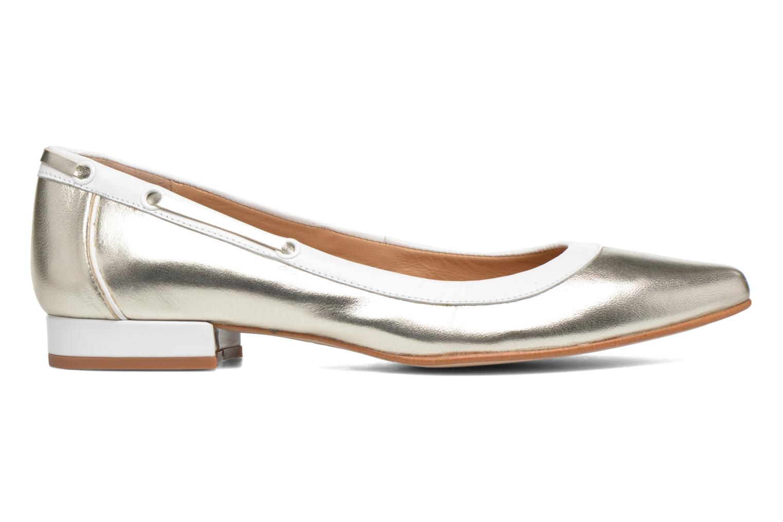 Ballet pumps Made by SARENZA Sugar Shoegar #5 Silver detailed view/ Pair view