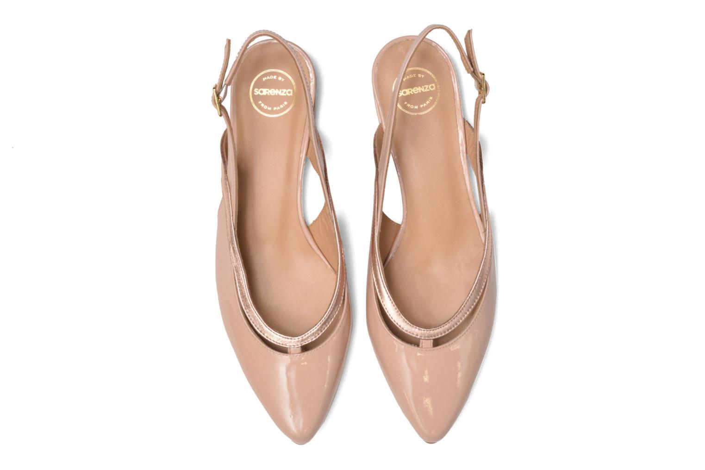 Ballerines Made by SARENZA Sugar Shoegar #3 Beige vue portées chaussures