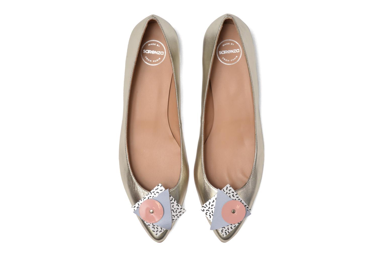 Ballerines Made by SARENZA Sugar Shoegar #4 Argent vue portées chaussures