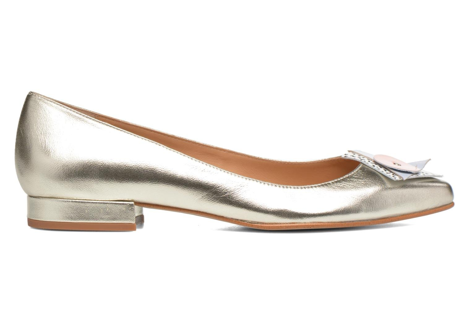 Ballet pumps Made by SARENZA Sugar Shoegar #4 Silver view from the right
