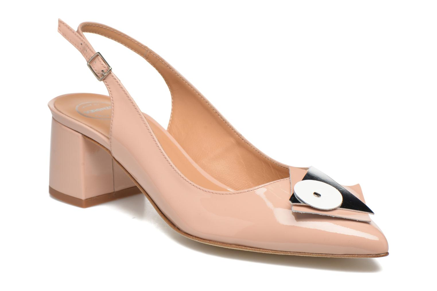 Pumps Made by SARENZA Donut hut #8 Beige detail