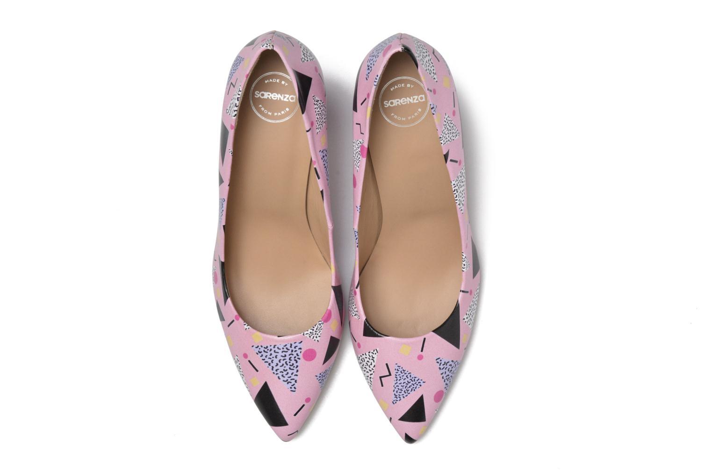 Escarpins Made by SARENZA Donut hut #13 Multicolore vue portées chaussures