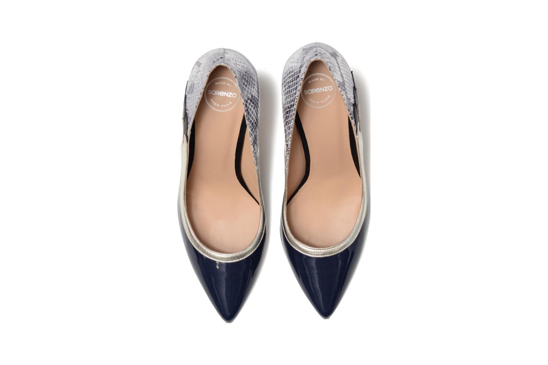 Escarpins Made by SARENZA Rock-a-hula #10 Bleu vue portées chaussures