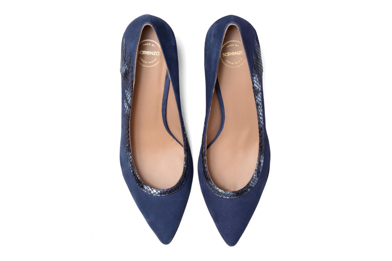 Escarpins Made by SARENZA Rock-a-hula #8 Bleu vue portées chaussures
