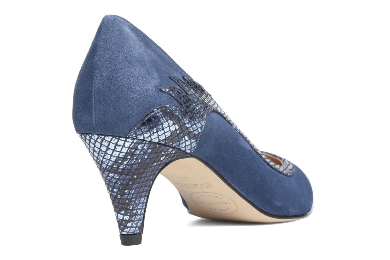 Zapatos de tacón Made by SARENZA Rock-a-hula #8 Azul vista de frente