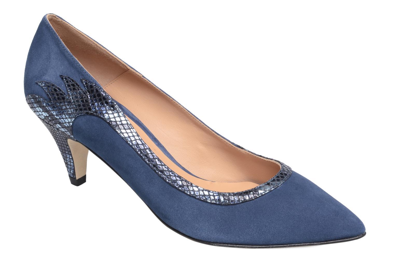 Escarpins Made by SARENZA Rock-a-hula #8 Bleu vue droite